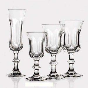 Κρυστάλλινα ποτήρια - καράφες
