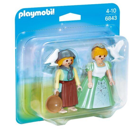 Playmobil Duo Pack Πριγκίπισσα Και Υπηρέτρια Πριγκίπισσα Και Υπηρέτρια (6843)