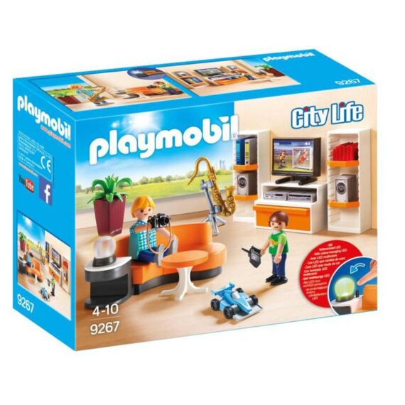 Playmobil City Life Μοντέρνο Καθιστικό (9267)