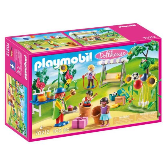 Playmobil DollHouse Παιδικό Πάρτυ Γενεθλίων  (70212)