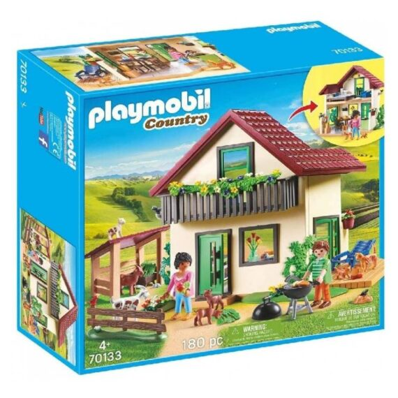 Playmobil Country Αγροικία με ζωάκια (70133)