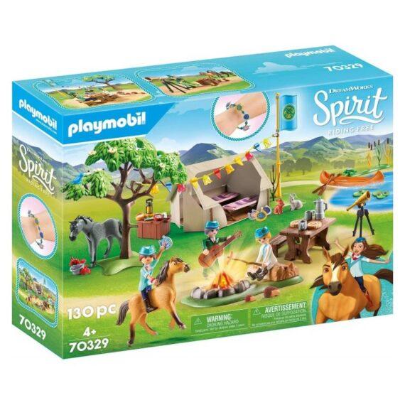 Playmobil Spirit Kαλοκαιρινή Kατασκήνωση (70329)