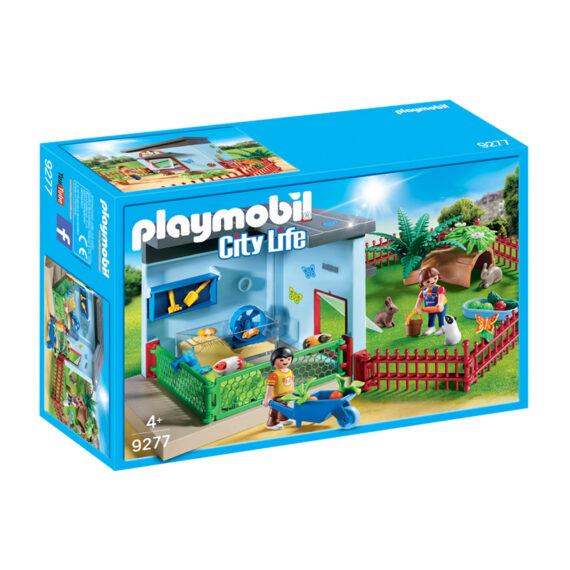 Playmobil City Life Ξενώνας Για Κουνελάκια Και Χαμστεράκια (9277)